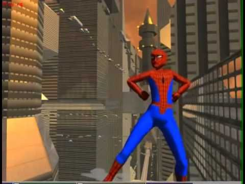 SPIDERMAN Dance The GANGNAM STYLE 3D