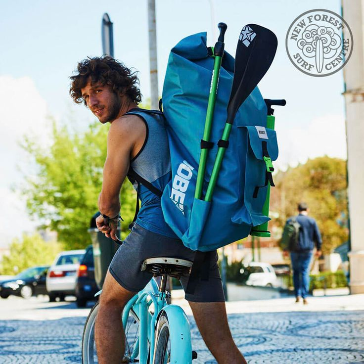 Jobe Yarra 10.6 Inflatable Paddle Board Package - The JOBE Yarra 10.6 Aero SUP backs down into a waterproof bag which is easy to carry as a backpack anywhere. Hop on the train, pack in in the car boot or jump on the bike and cycle to the beach.