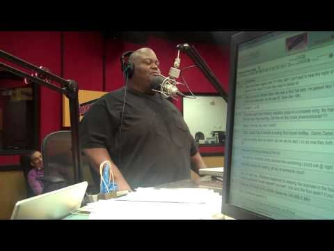 Lavell Crawford stops by the Tom Joyner Morning Show