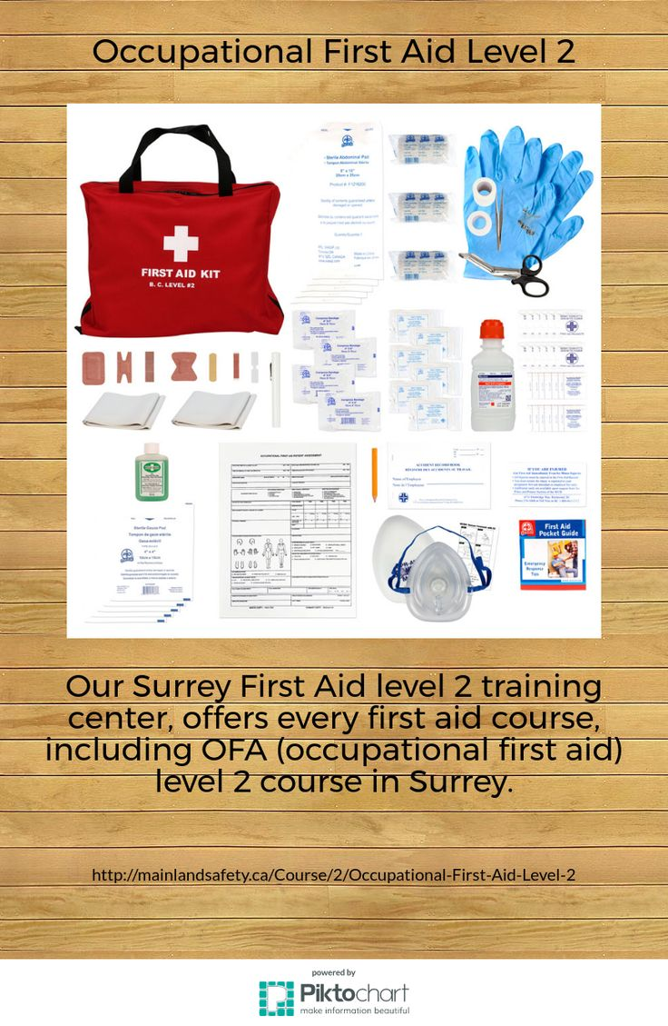 Our Surrey First Aid level 2 training center, offers every first aid course, including OFA (occupational first aid) level 2 course in Surrey. Register with us today! For more information about the course and fee please visit our website.
