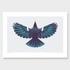 Forest Flight Art Print by Glenn Jones