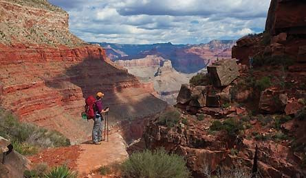 Hermit Trail (photo by Laurence Parent)  Grand Canyon National Park: Hot Spots, Backpacker Com Photos, Backpacks Magazines, Alternative Trail, Trail Photos, Hermit Trail, Life Lists Hot, Grand Canyon, Canyon National