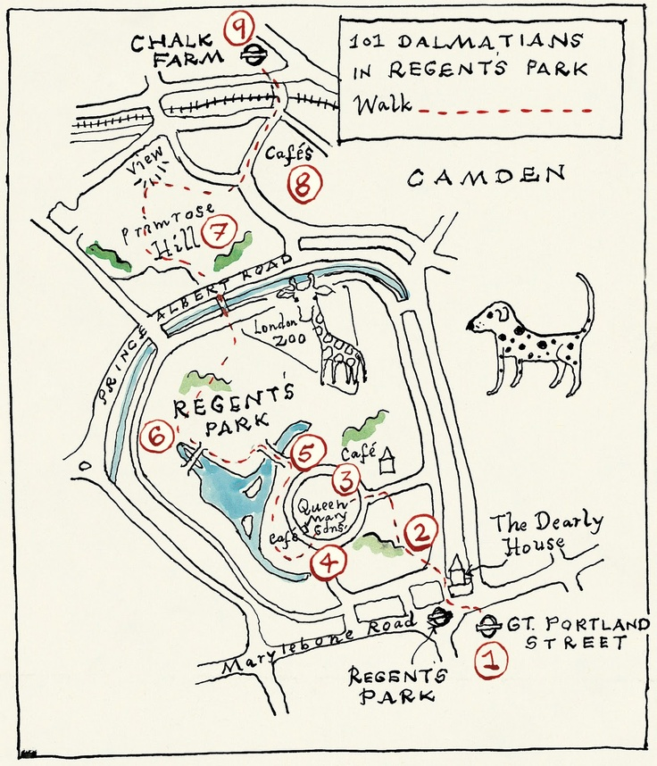 Adventure Walks Books Blog: Hand drawn maps of London