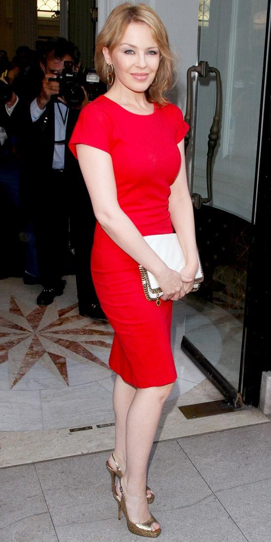 Kylie Minogue in Stella McCartney