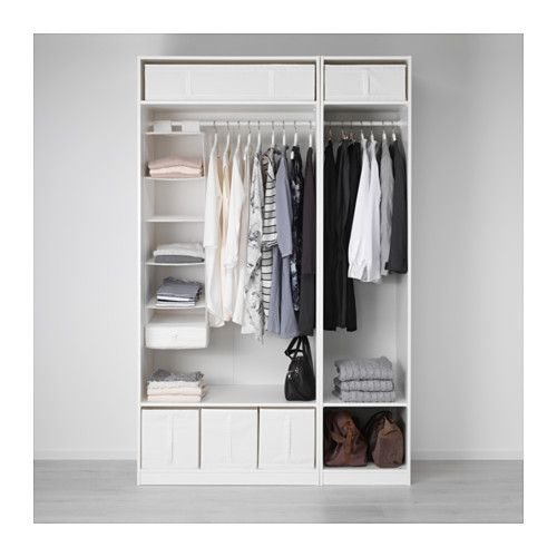 Epic IKEA paxs wardrobe, for £146 perfect for organisation in small places!