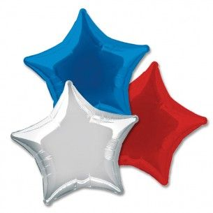 Star Foil Party Balloon   Party Balloons & Decorations   Party Pieces