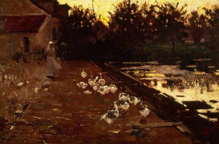 Homeward by Arthur Melville