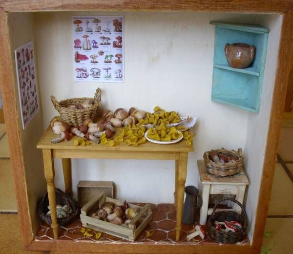 Mini Kitchen Room Box: 1000+ Images About Miniature Room Boxes On Pinterest