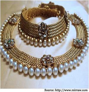 Indian Bridal Jewellery - Wedding Jewellery | Necklace, Rings, Bangles