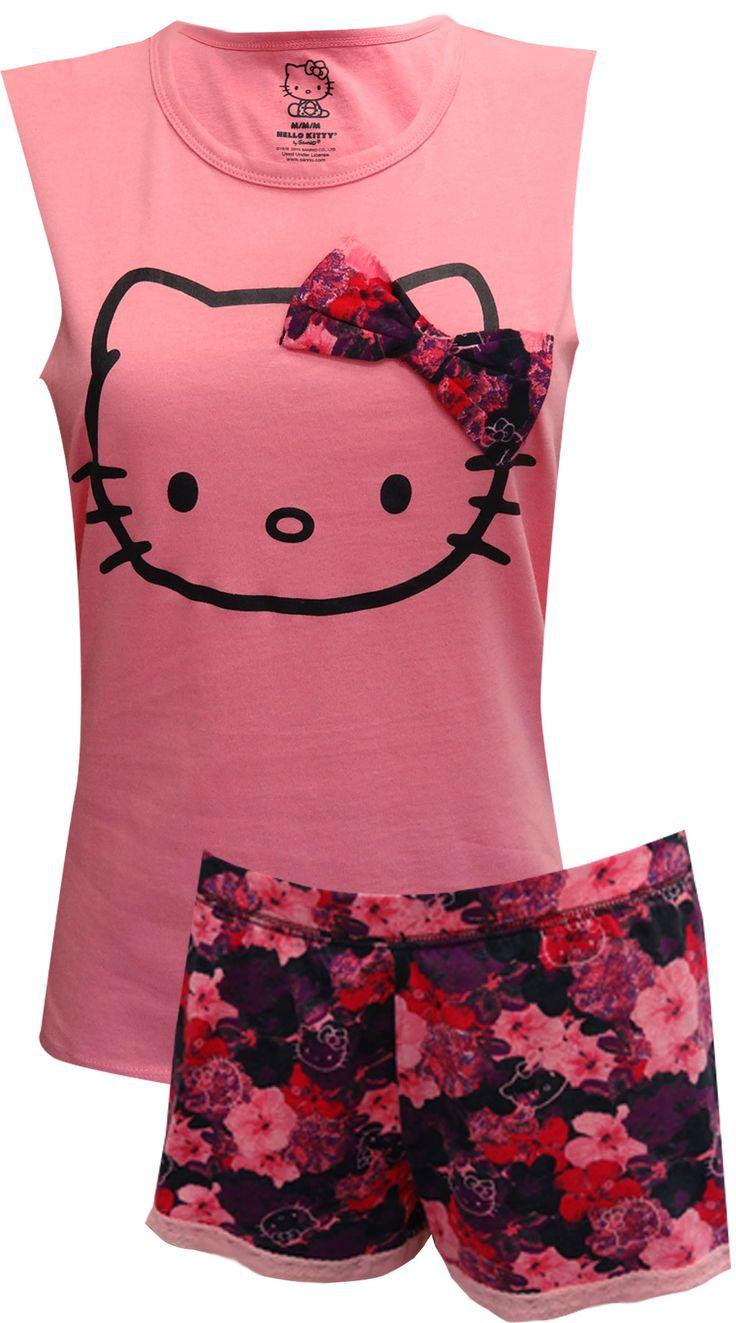Design your own hello kitty t-shirt - Hello Kitty Pretty Petals Shortie Pajamas