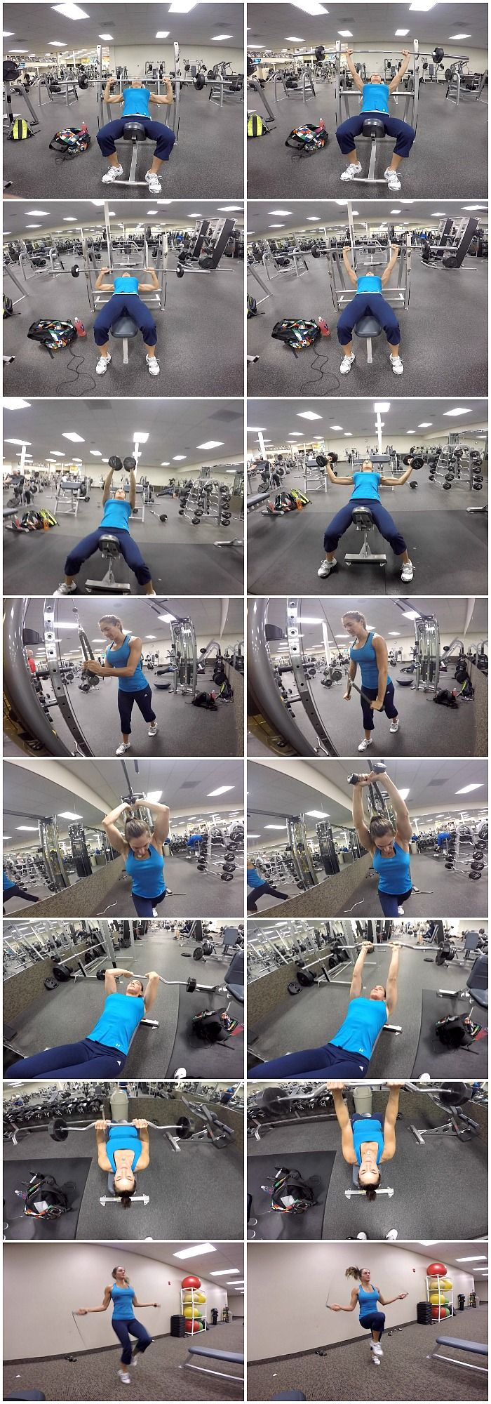 10 WEEKS TO FIT-DAY 3: CHEST & TRICEPS