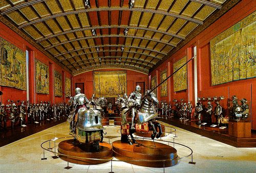 Royal Armory at Palacio Real de Madrid Spain