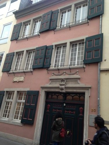 Bonn APT River Cruise2 Birthplace of Beethoven.
