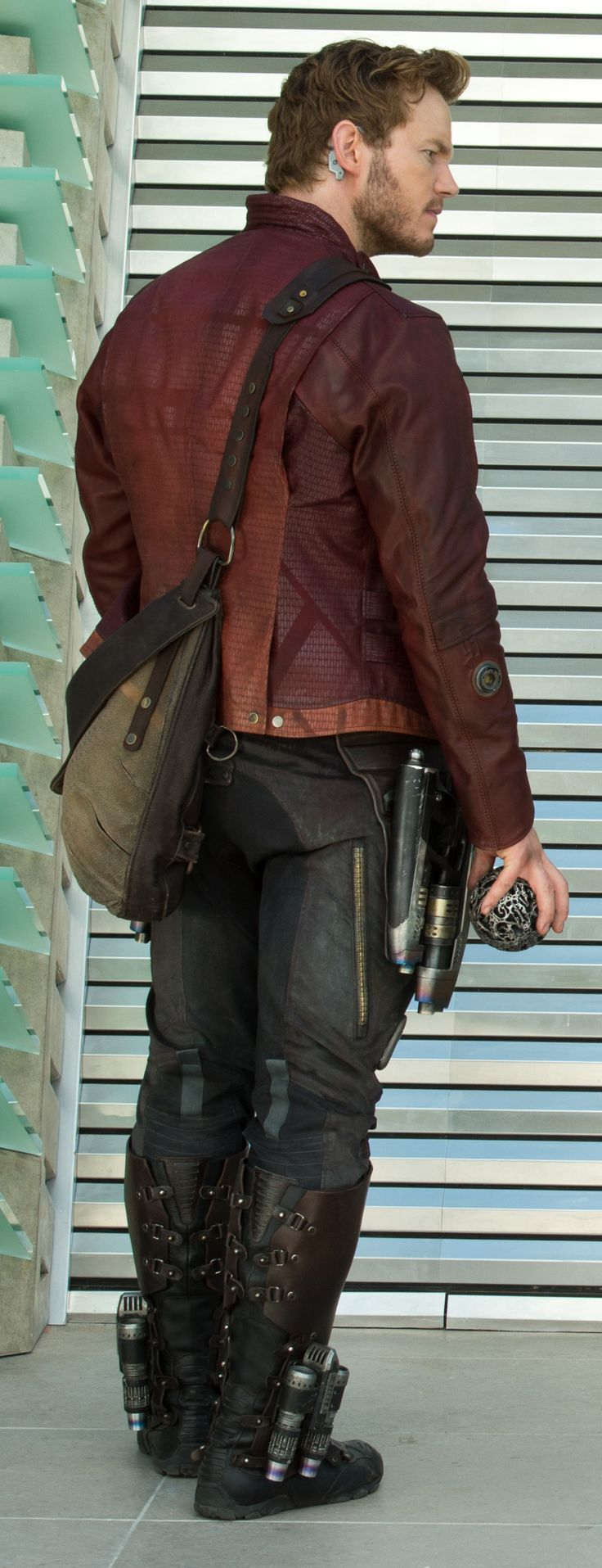 Star-Lord - Closeup of Peter Quill's back