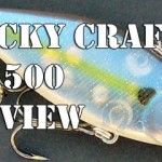 Review: Lucky Craft LV 500 Lipless Crankbait Bass Fishing Lure. The LV 500 is one of the first baits that Japanese vendor Lucky Craft imported to the USA - and still one of their best.