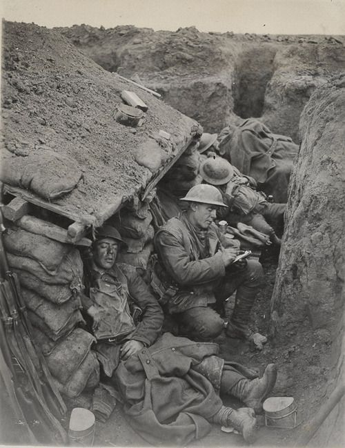 conditions western front essay The trench system on the western front in world war i—fixed from the winter of  1914 to the spring of 1918—eventually stretched from the north sea coast of.