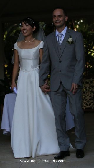 Waka and Alex, married 26th May 2013 by Cairns wedding celebrant Janine Meakin of NQCelebrations