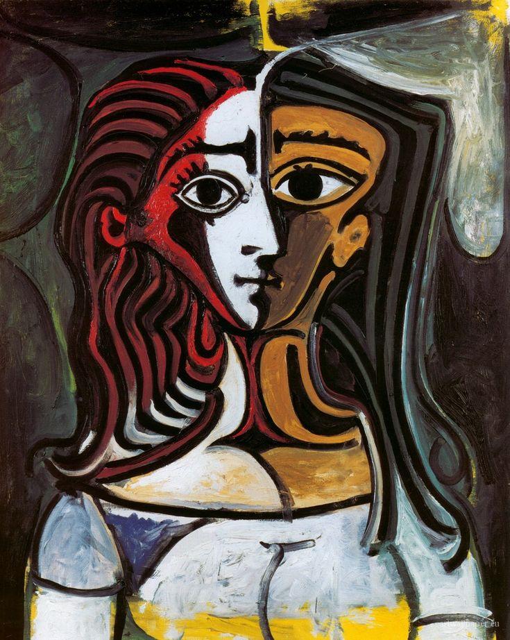 Jacqueline Roque (1927-1986) was de tweede vrouw van Pablo Picasso en zijn frequente model. Picasso bracht de laatste 20 jaar van zijn leven met haar door. In die tijd creëerde hij meer dan 400 portretten van haar. Ze hadden geen kinderen. Het leeftijdsverschil tussen Roque en Picasso bedroeg 46 jaar. Nadat Picasso was gescheiden van Françoise, begonnen ze hun relatie. Ze trouwden in 1961. Jacqueline doodde zichzelf met een geweer, dertien jaar na de dood van Picasso.-- 1960