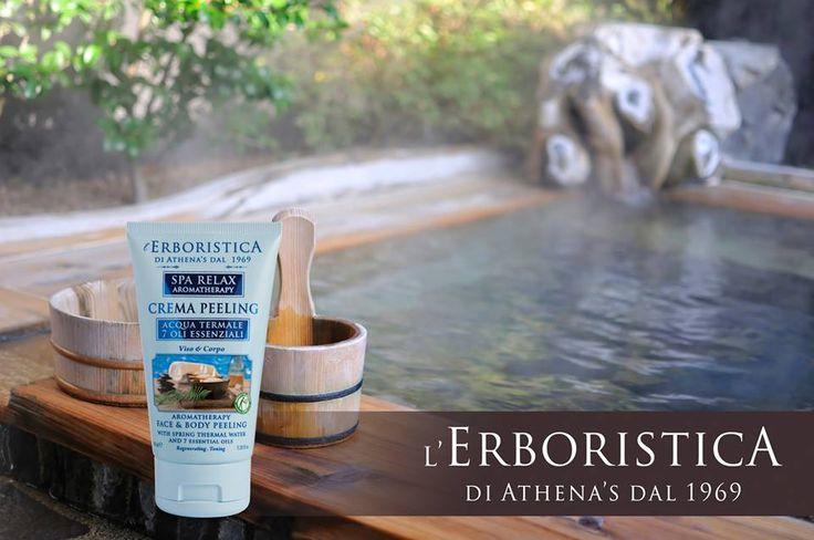 Preparate #viso e #corpo all'abbronzatura con questa crema peeling delicata ed efficace per una #pelle liscia e purificata.  #CosmeticaNaturaleItaliana #LaBellezzaèNellaNostraNatura  More: www.shopathenas.com/lang-it/spa-relax-aromatherapy/321-crema-peeling-acqua-termale-e-7-oli-essenziali-8002842170691.html