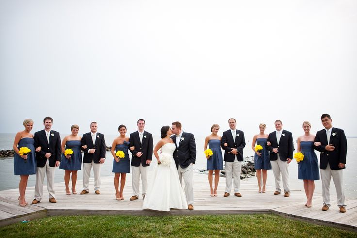 Cindy and Jeff's nautical wedding