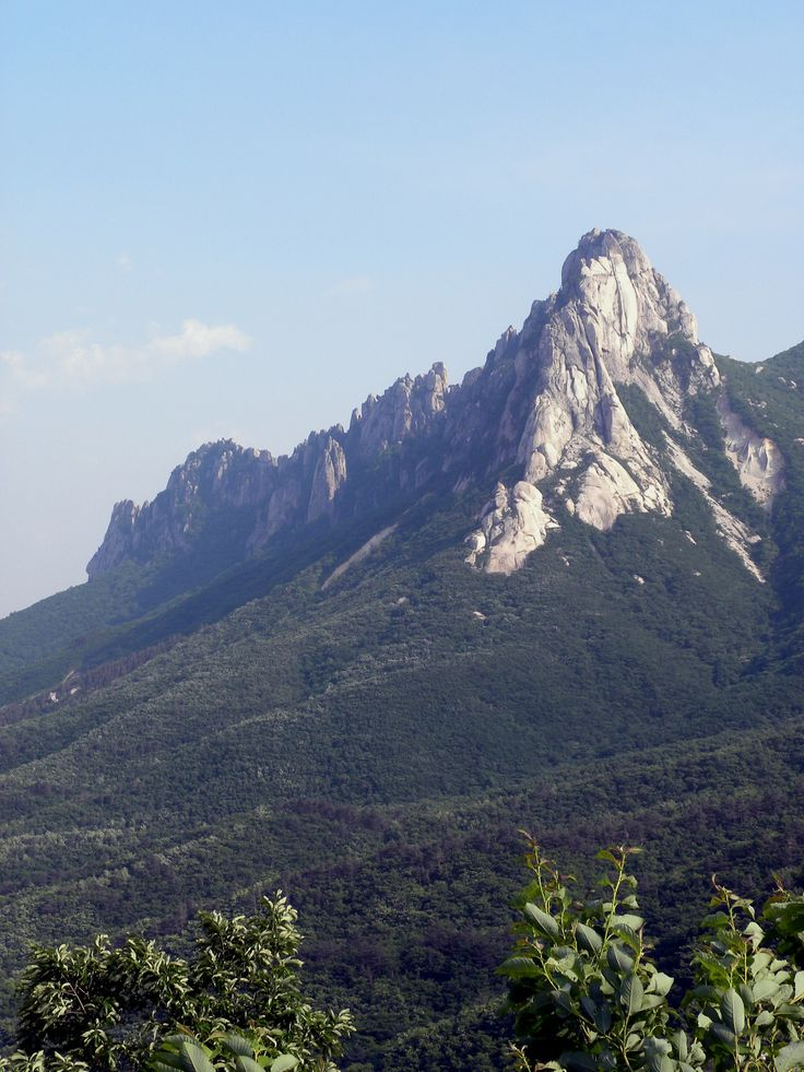 #Ulsanbawi Rock in Seoraksan National Park, #Sokcho, Korea