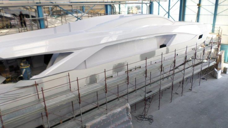 San Remo-based boatbuilder Permare has released details of its forthcoming Amer 110, which is currently under construction for a repeat client