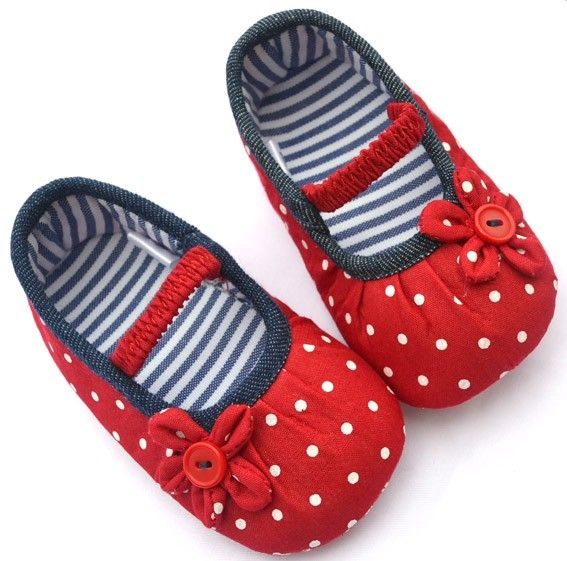 Red Mary Jane Toddler Baby Girl Shoes