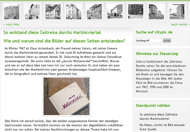 Zeitreise Martinsviertel by DA_Kalle, via Flickr