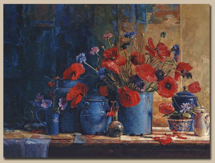"Ben Snijders 'Symphonie"". Olieverf-doek. 60 x 80 cm. 1992 - 1993."