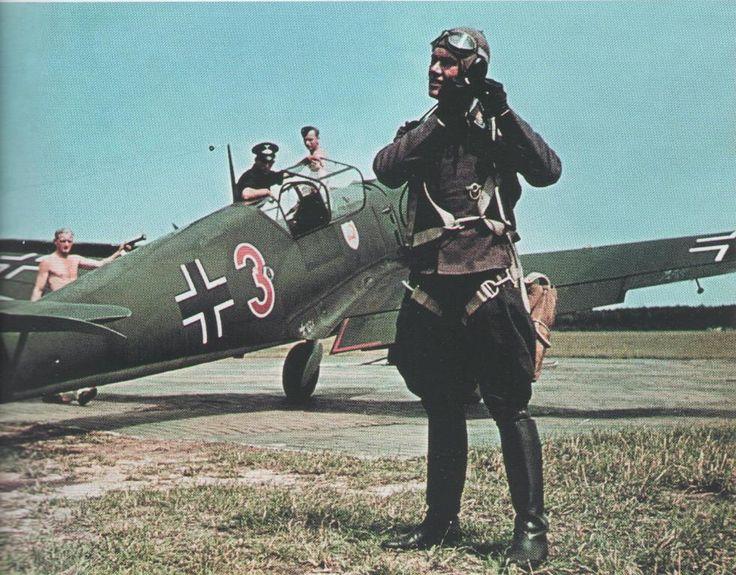 """Messerschmitt Bf 109E1 """"Red 3"""" II./JG2 """"Phoney War"""" 1939-40"""