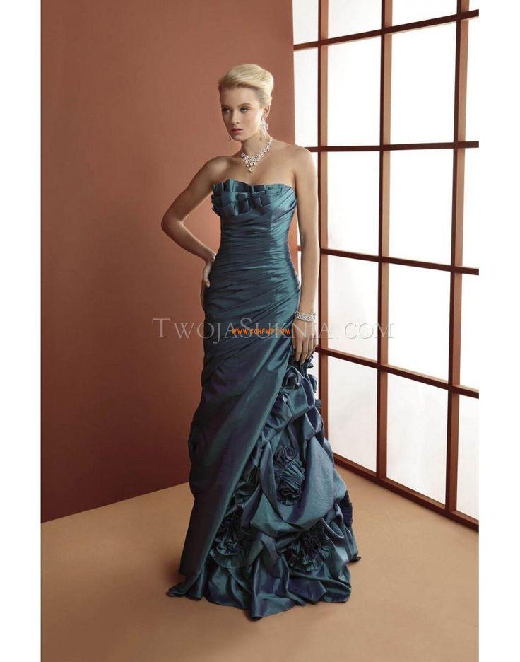 Sweep / Brush Pociąg Bez ramiączek Elegant & Luxurious Suknie ślubne 2014