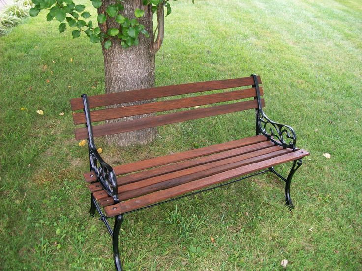 How To Restore A Park Bench For The Home Pinterest