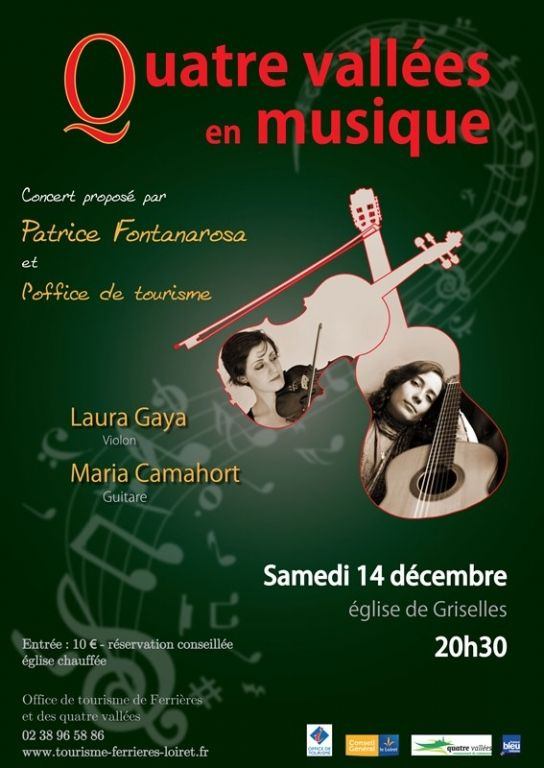Quatre vallées en musique, Griselles, Centre