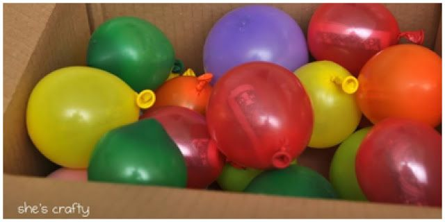 Cash Balloons by Mail: $1 bill in each balloon, box them upFun Things to Send in the Mail - Happy-Go-Lucky