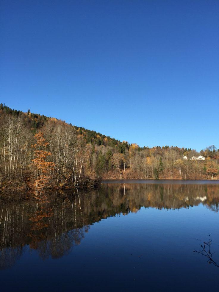 Semsvannet, Asker, Norway
