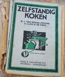 Old cookbook from Friesland. http://cookingwithsin.com/2010/05/30/dutch-wedding-pudding-advokaat/