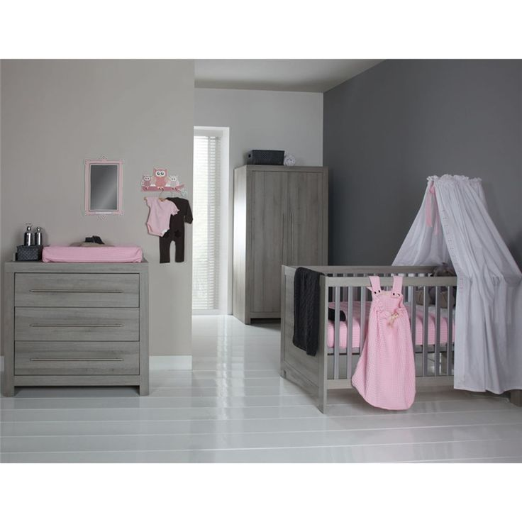 Europe Baby Vicenza Grey Cot Roomset