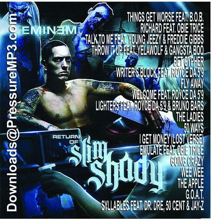 Slim Shady Triple Threat - Eminem Mixtapes 3 CD Set Compilations