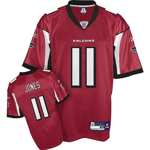 Reebok Atlanta Falcons Roddy White 84 Red Authentic Jersey Sale