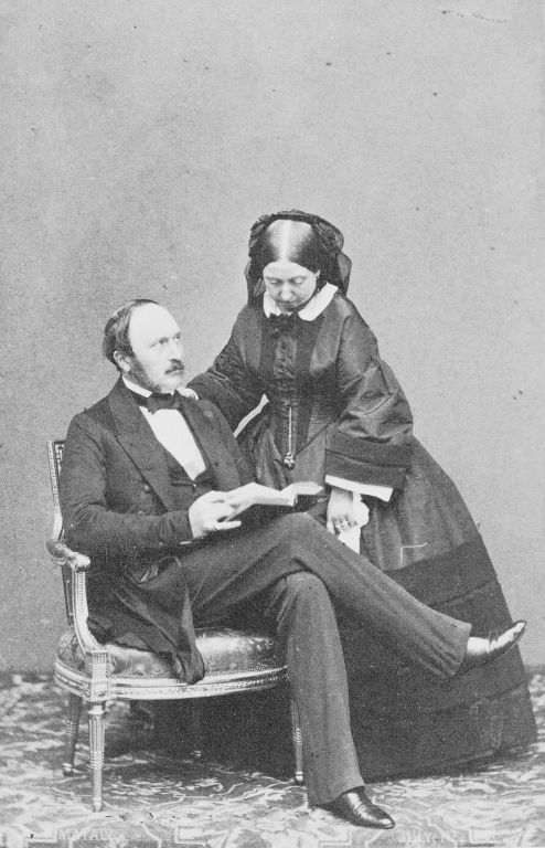 Queen Victoria and Prince Albert, Prince Consort, c. 1860 | Royal Collection Trust
