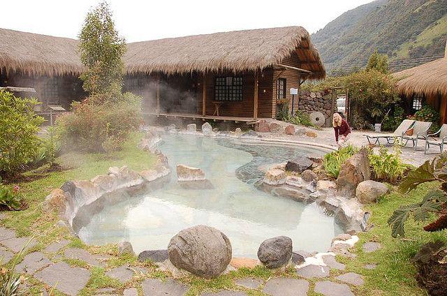 Papallacta Hot Springs, Ecuador.