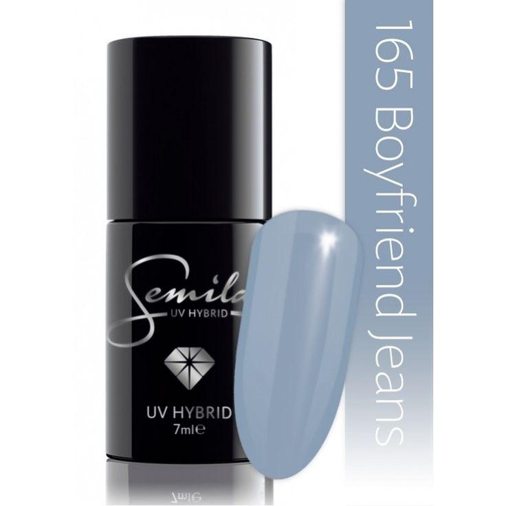 Ημιμόνιμο μανό Semilac - 165 Boyfriend Jeans 7ml - Semilac | Προϊόντα Μανικιούρ - Πεντικιούρ Semilac & Ημιμόνιμα.