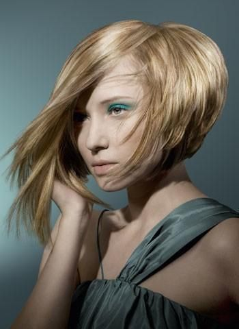 Frisyrer halvlångt hår 88