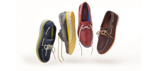 No dia do pai ofereça-lhe os novos modelos repletos de cor da Sperry Top-Sider, a marca dos sapatos de vela originais. Com paletas garridas e apontamentos divertidos, nunca o sapato de vela esteve tão na moda.