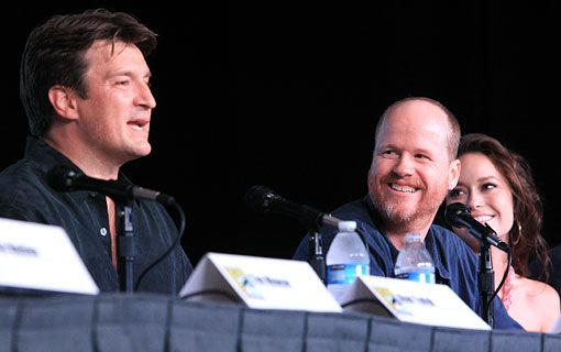 "Firefly Fan question: ""What's your favorite crazy fan story?"" ""Remember the time we were off the air for 10 years and thousands of people showed up to see us?"""