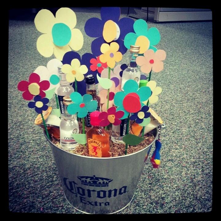 Best 25+ Booze Bouquet Ideas On Pinterest