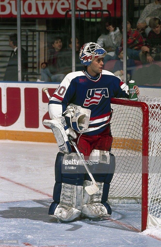 Pin By Michael Delmauro On Team U S A Goalies Ice Hockey Teams Ice Hockey Hockey Games