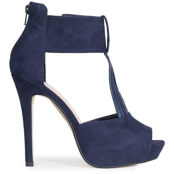 Bianco Triangle Platform Sandal featuring polyvore, fashion, shoes ...