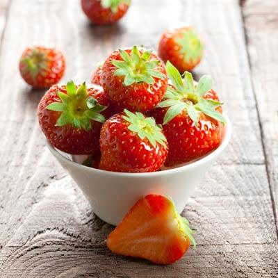 Me gusta comer las fresas