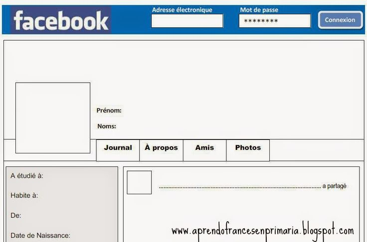 Page Facebook- writing idea